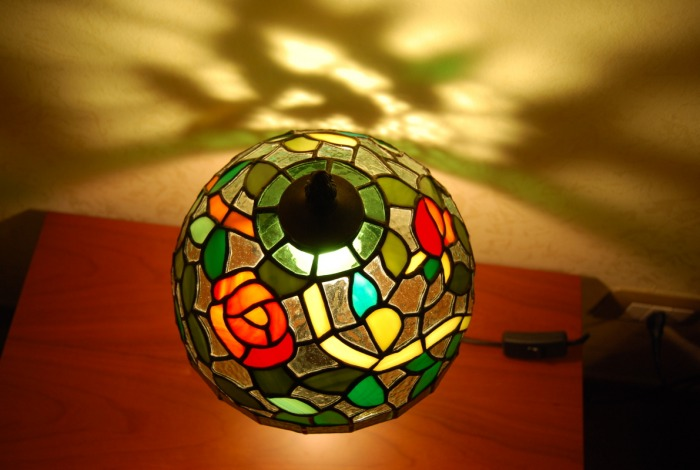 Lampade tiffany   glass art creazioni di vetro   gallery & workshop